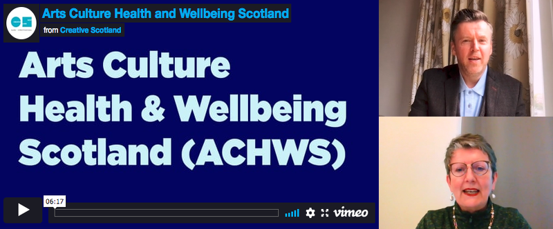 Creative Scotland feature on ACHWS